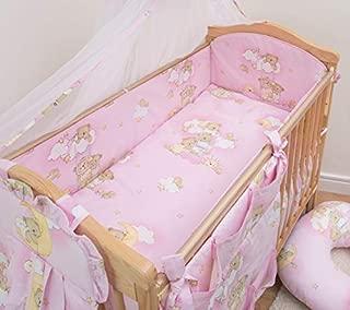4/Mum /& Baby protezione antiurto//paracolpi per lettino beb/è imbottita 140/x 70/x 420/cm
