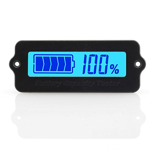 Review Of ToToT LY6W Battery Capacity Tester Monitor Universal Voltage-Type LCD Digital Display Powe...
