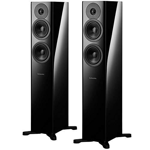 Dynaudio Evoke 30 Compact Floor-Standing Speaker - Black Gloss - Each