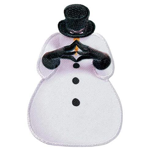 MQ TABALUGA - Snowman Arktos - Aufnäher/Iron On Patch/Applikation - 5 x 7,5 cm