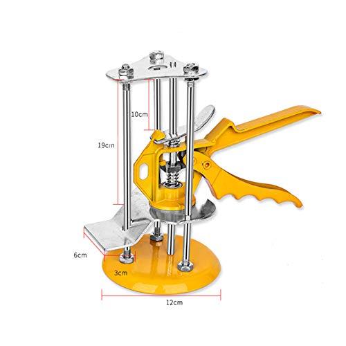 ERHETUS Regulador de nivel de azulejos para pared, nivelador de altura de 1 a 12 cm, herramienta para artesanos