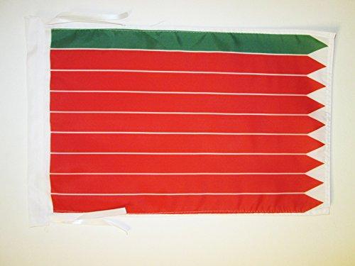 AZ FLAG Bandera de la Provincia DE Zamora 45x30cm - BANDERINA Zamora ENCastilla Y LEÓN 30 x 45 cm cordeles