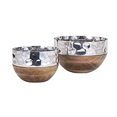 Imax Trisha Yearwood Home Collection 10440-2 Persimmon Serving Bowls