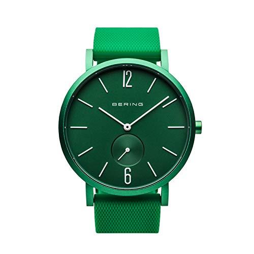 BERING Unisex Analog Quartz Uhr mit Silikon Armband 16940-899