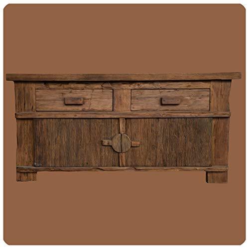 Alt-Teak Kommode I Massivholz-Möbel I Modell: Borneo 2