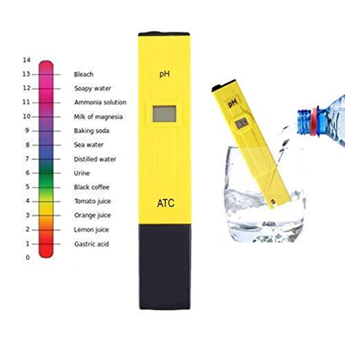 feeilty Digital-Meter-Prüfvorrichtung-Feder-Tasche Messen LCD Spa Aquarium-Wasser-Pool Whirlpool Hydroponics Wein