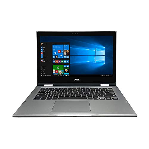 Dell Inspiron 13 5000 Series 2-in-1 5379 13.3' Full HD Touch Screen Laptop - 8th Gen Intel Core i7-8550U up to 4.0 GHz, 8GB Memory, 256GB SSD, Intel UHD Graphics 620, Windows 10, Gray