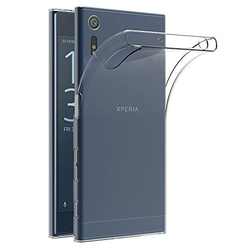 AICEK Funda Sony Xperia XZ/Sony Xperia XZs, Sony Xperia XZ/Sony Xperia XZs Funda Transparente Gel Silicona Sony Xperia XZ Carcasa para Xperia XZ