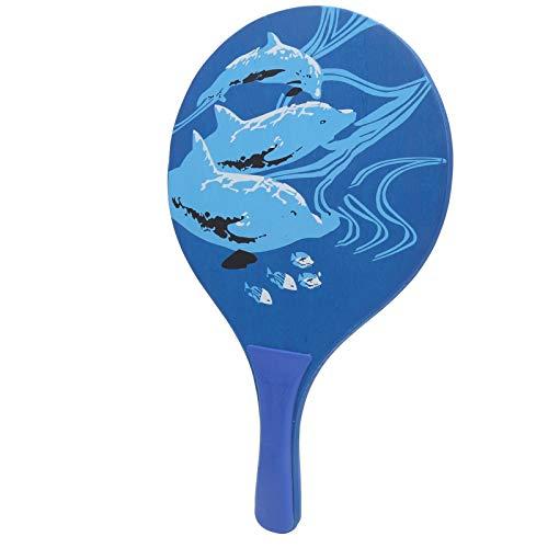 Raqueta de bádminton de tabla, raqueta de tenis de playa, raqueta de pelota de paletas de madera, 2 piezas de pelota de paleta de madera, raqueta de bádminton, tenis de pingpong, playa, interior, exte
