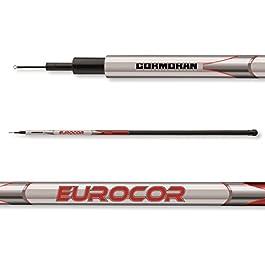 Cormoran Eurocor Tele Pole sans anneaux – Canne télescopique