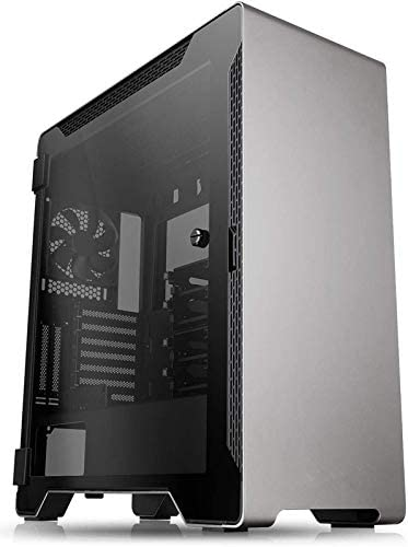ATX Mid Tower AT-62 San Jose Mall Gaming Computer Case, Si Glass Tempered Max 45% OFF