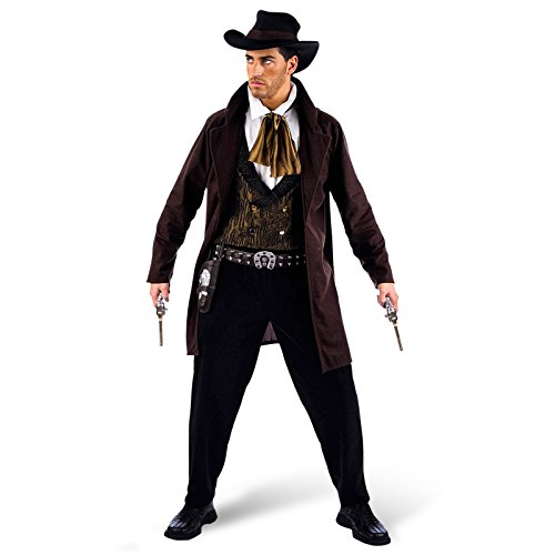 Limit Sport - Disfraz de vaquero cowboy para adultos, talla L (MA642)