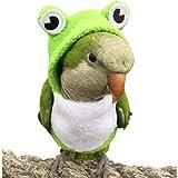 HEZHUO Traje de vuelo para pájaros, loros, ropa para pájaros, piloto, ropa con forro impermeable para mascotas, pájaros, guacamayos, cacatúas (5XL)