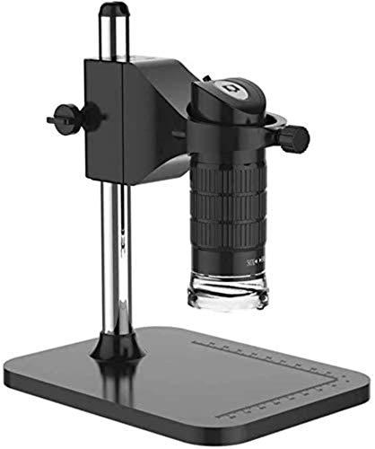 PFTHDE Regalos para niños 1080P HD USB Microscopio Digital Computadora de Mano Pc Microscopio electrónico Lupa 500 X, 8 Luces LED Ajustables, Regalo de cumpleaños Set de Regalo