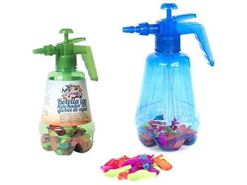 ZCENTER Botella con Hinchador Y 100 Globos Agua