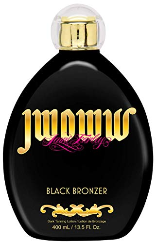 Jwoww Black Bronzer Dark Tanning Lotion 13.5 ounce