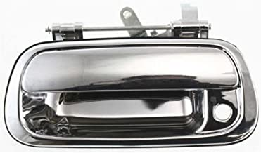 Make Auto Parts Manufacturing - New Chromed Tailgate Handle Plastic, Exterior/Outside, with Keyhole, w/o Camera Hole For Toyota Tundra 2000-2006 - TO1915110