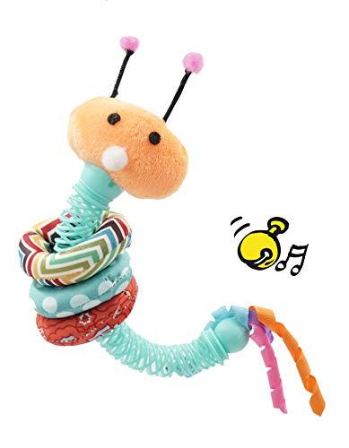 Aime Katzenspielzeug, XL, groß, mit Ringen auf Katzengras, Glöckchen im Inneren,...