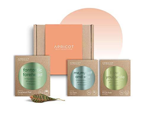 "APRICOT Beauty Box face\""fabulous face\"" - 3 ORIGINIAL Hyaluron Beauty Pads - 30 x wiederverwendbar - made in Germany - GERMAN INNOVATION AWARD WINNER - Vorzugspreis!"