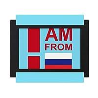 ロシア連邦から デスクトップフォトフレーム画像ブラックは、芸術絵画7 x 9インチ