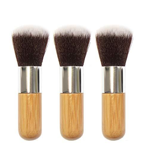 Dankera 3Pcs Super Soft Detailing Brushes for Car Cleaning Vents Dash Trim Seats Makeup Round Head Brush