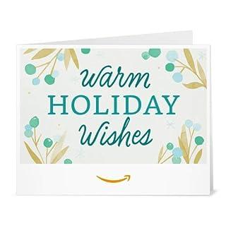 Amazon Gift Card - Print - Warm Holiday Wishes (B07K33ZZ8X) | Amazon price tracker / tracking, Amazon price history charts, Amazon price watches, Amazon price drop alerts