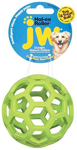 J.W. JW JW43110 HOL-ee Roller Small, Hundespielzeug kauen und beißen, S