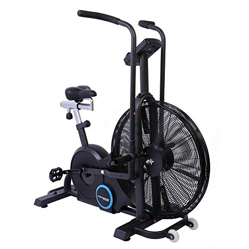 Confidence Fitness Exercise Bike Air Resistance Bike with Tablet S