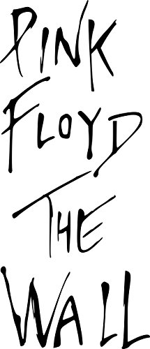 Pink Floyd - The Wall - Large Vinyl Wall Sticker (Large: 60cm x 140cm / 24 x 56) by Broomsticker
