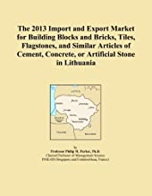 The 2013 Import and Export Market for Building Blocks and Bricks, Tiles, Flagstones, and Similar Articles of Cement, Concrete, or Artificial Stone in Lithuania