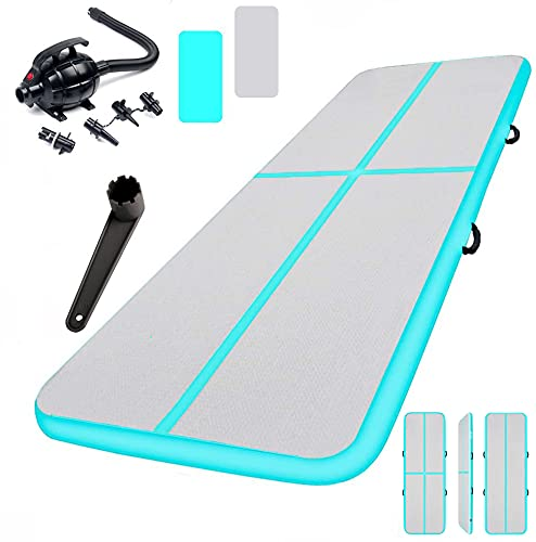 NO. 32 3M Inflatable Tumbling Gym Mat | Flooring Workout Mat | Inflatable...