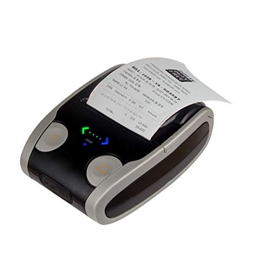 Etikettendrucker handgerät Embosser Home Embossing Etikettendrucker Bluetooth-Thermoticket-Etikett Drahtloser Taschen-Handdrucker für die Etikettierung, Büro