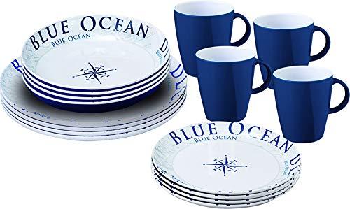 BRUNNER Midday Blue ocean 16 pezzi