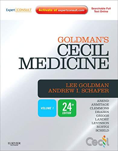 Cecil Txtbk of Medicine 2v: Expert Consult Premium Edition -- Enhanced Online Features and Print, Two Volume Set