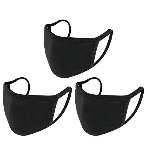 Qinju Muffle Mask Anti Dust Mouth Mask Cotton Face Mask for Men Women(Reusable,Washable)
