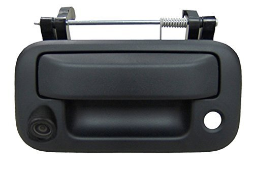 omotor Fit for Toyota Tundra 2007 2008 2009 2010 2011 2012 2013 Black Tailgate Backup Reverse Handle with Camera