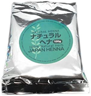 ジャパンヘナ ナチュラルトリートメント 100g