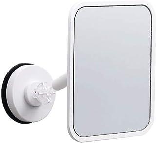 Asdfnfa Makeup Mirror Wall-Mounted Bathroom Hole-Free Dormitory Wardrobe Door Vanity Mirror Waterproof Moisture Resistant Cosmetic Mirror