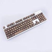 GH60フルセットソリッドウッドキーキャップチェリーMxスイッチ用にカスタマイズされた手作りキーキャップメカニカルゲーミングキーボードはウッドキーキャップを使用します (104fullkeycaps)