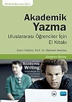 Akademik Yazma - Uluslararasi Ögrenciler Icin El Kitabi