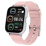 """Togala Smartwatch, 1.69"""" Reloj Inteligente Mujer con Pulsómetro, Calorías, Monitor de Sueño, Podómetro Pulsera Actividad Inteligente 24 Modos Deporte, Impermeable Reloj Deportivo para Android iOS"""
