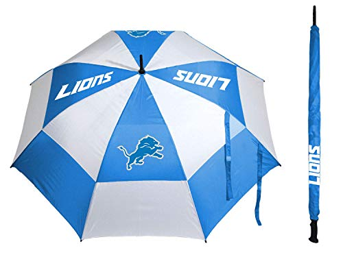 Save %5 Now! Team Golf NFL 62 Golf Umbrella with Protective Sheath, Double Canopy Wind Protection D...