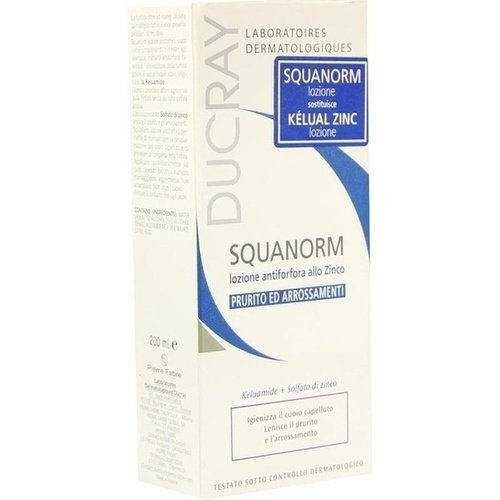 Ducray Squanorm Anti Schuppen Zink Tinktur 200ml