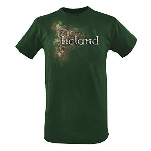 Traditional Craft Botella Celta Irlanda Camiseta Hombre (pequeño) - Botella, Medium