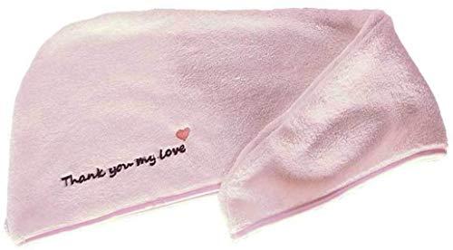 Aohua Abili Haarverdichte haardroger, handdoek, kap van microvezel, sneldrogend, turban voor bad, douche of zwembad