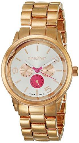 nine2five Deluxe Rosegold Reloj