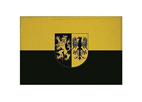 U24 Aufnäher Vogtland Fahne Flagge Aufbügler Patch 9 x 6 cm