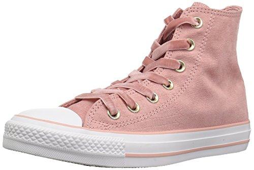 Converse Damen CTAS Hi Fitnessschuhe, Mehrfarbig (Rust Pink/Black/White 668), 39.5 EU