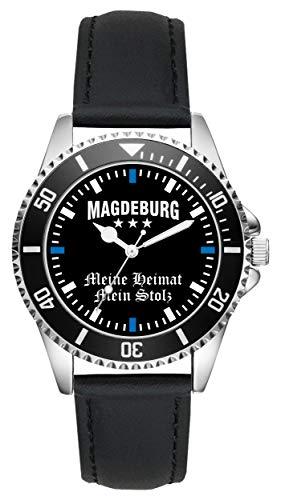 Magdeburg Geschenk Artikel Idee Fan Uhr L-2326