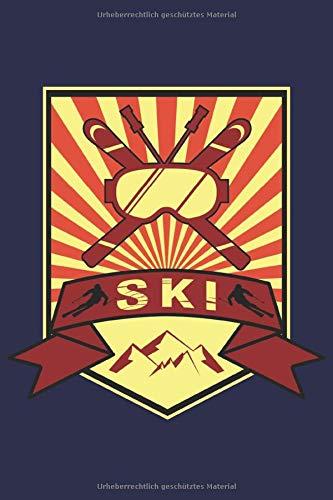 Ski Fahrer Notizbuch: Ein cooles Buch für alle Ski Fahrer